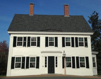 The Gridle House at 13 School Street. Archives and smaller exhibits are housed here.