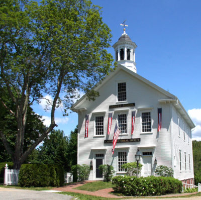The Abbott School at 17 School Street. Primary exhibits are housed here.