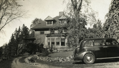 Porter-Dewson Summer Residence, Moss Acre in Castine, 1940