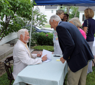 Book Signing with Historian and Author Lynn Parsons. Season opening, 2013.