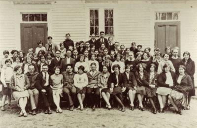 Castine High School, 1927