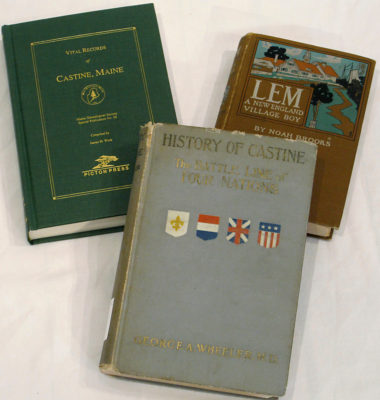 Books in the Castine Historical Society Collection