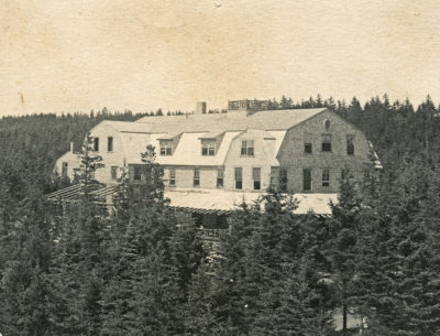 Dome of the Rock Hotel at Dyce Head in Castine, c. 1900