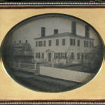 Ebenezer Perkins House, built 1807-1808. Photo c. 1860