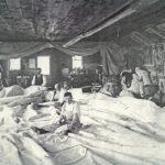 Sail loft interior, c. 1880
