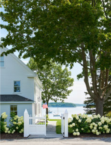 One of the beautiful homes in Castine. Photo courtesy of Loi Thai.