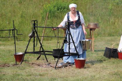 Fort George Revolutionary War Encampment September 8-9
