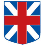 The English Flag, as represented by the Castine Historical Society logo