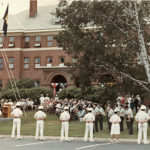 Ceremony at Maine Maritime Academy