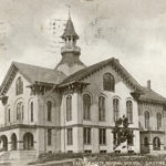 Eastern State Normal School, built 1873; presently Dismukes Hall at Maine Maritime Academy