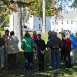 A Walking Tour on the town common.
