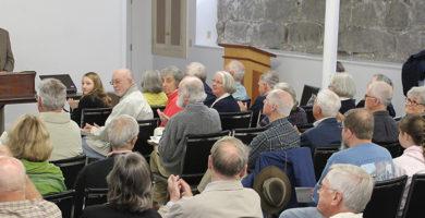 Lynn Parsons speaks at the 2014 Annual Meeting