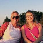 Historical Society Board member Lisa Haugen and 2018 Intern Hannah Kintzel