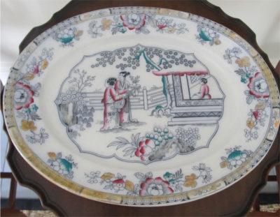 Beautiful china platter