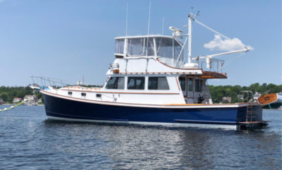 Join the owners of the motor yacht Persistence II for a mutually agreed upon afternoon or early evening cruise for four to eight guests. Cocktails and appetizers provided.