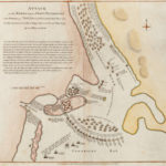 A rare 18th century map of the Penobscot Expedition in Castine will be auctioned off at the Historical Society's summer fundraiser.