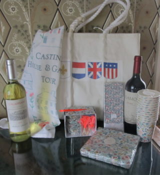 A sampling of the items available in the raffle.