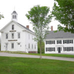 The Castine Historical Society's Abbott School and Grindle House. Photo by Loi Thai.