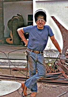 Clark Fitz-Gerald working on the Reeds.