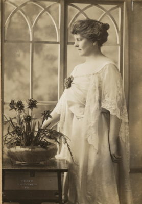 Anne Gass's great-grandmother Florence Brooks Whitehouse