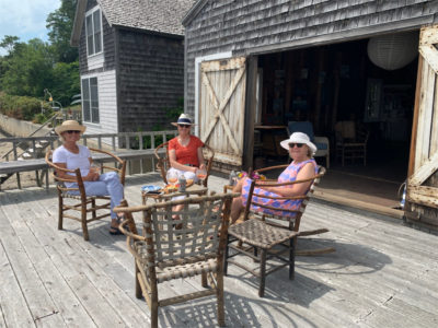 Enjoy a picnic for up to six people at the scenic Scheer Boathouse. Bring your own basket of food and drinks and sit at the water's edge enjoying the summer breezes and boats going in and out of the harbor. Stay as long as you like. Dates to be worked out with as much advance notice as possible. Donated by Ruth and Ken Scheer.